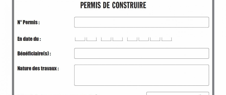 Constat D Affichage D Une Autorisation D Urbanisme Huissier De